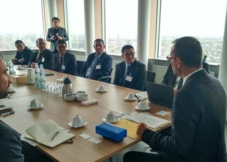 Gubernur Irwan Kunjungi Jerman, Butof: Akan Menjadi Kerjasama yang Saling Menguntungkan