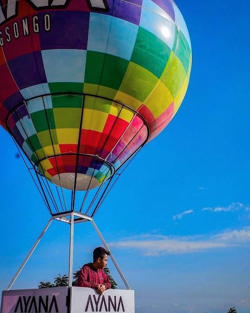 ayana gedong songo balon udara