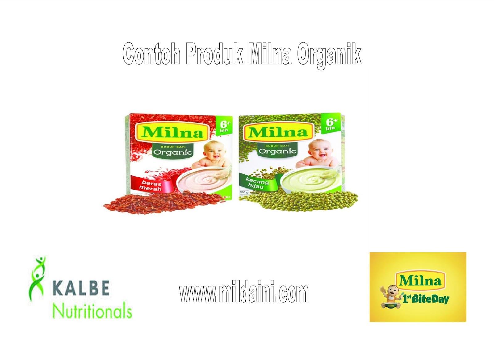 Milna Wgain Bubur Bayi Ayam Wortel Brokoli 9m+