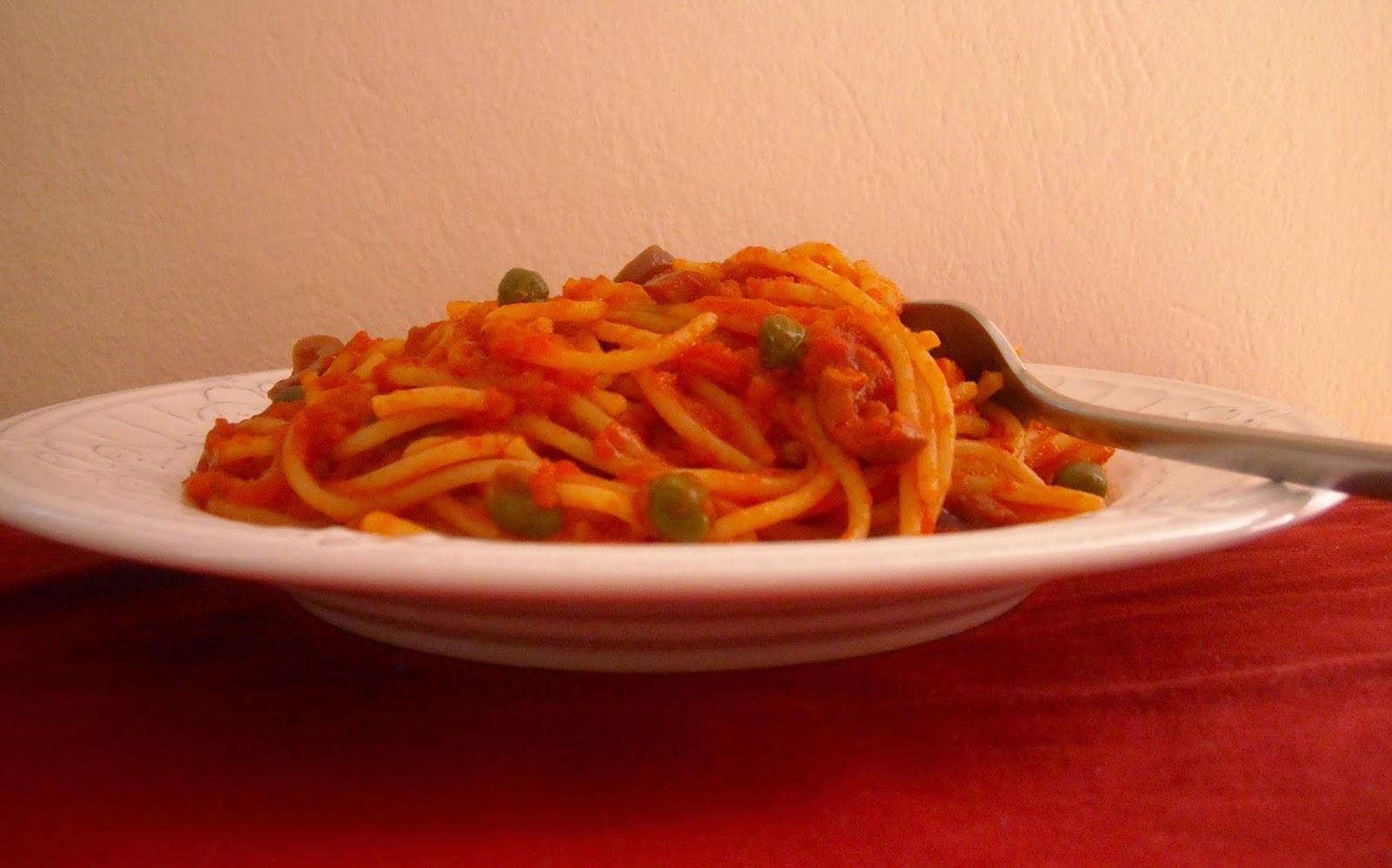 Spaghetti House – Spaghetti alla puttanesca