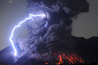 Sakurajima Volcano Eruption
