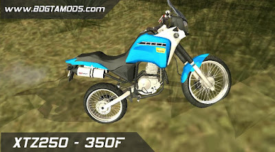 GTA SA - XTZ250 - 350F 2