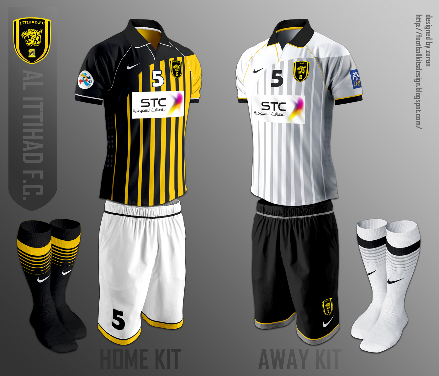 ab3b129b254 Al-Ittihad Football Club fantasy kits