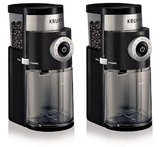 KRUPS GX5000 Specialist Electric Coffee Burr Grinder