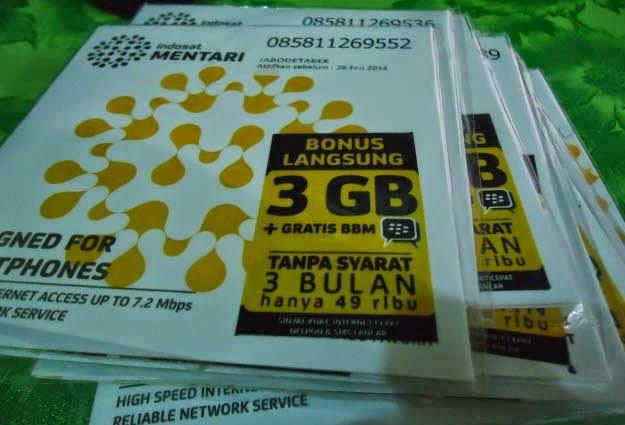 paket internet indosat, paket internet mentari, paket internet murah, cara daftar paket mentari