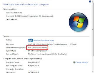 Panduan Lengkap Cara Upgrade / Menambah RAM Laptop dengan Tepat