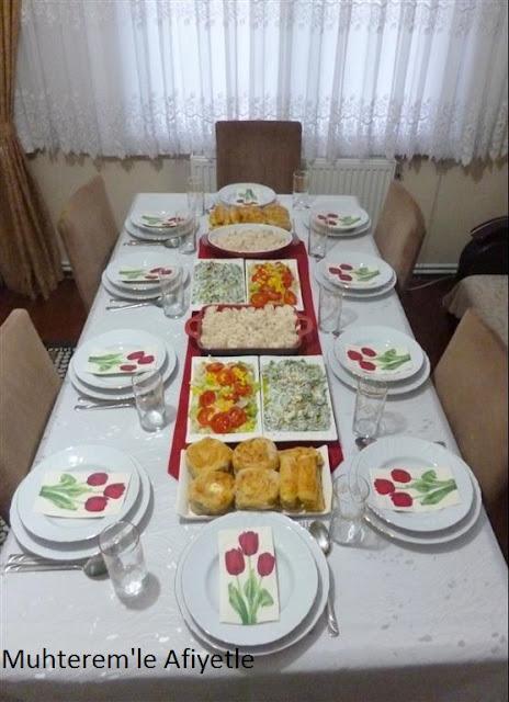 iftar masası resmi
