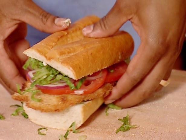 Indonesian Best Recipe Fried Fish Sandwich