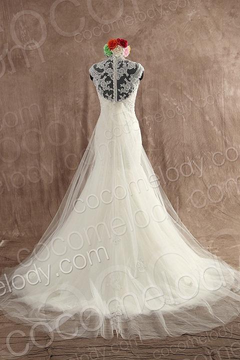 Cocomelody Shows You Distinctive Back Landscape of Wedding Dresses ...