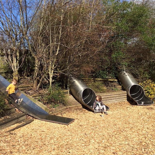 Outdoor play area Cannon hall farm