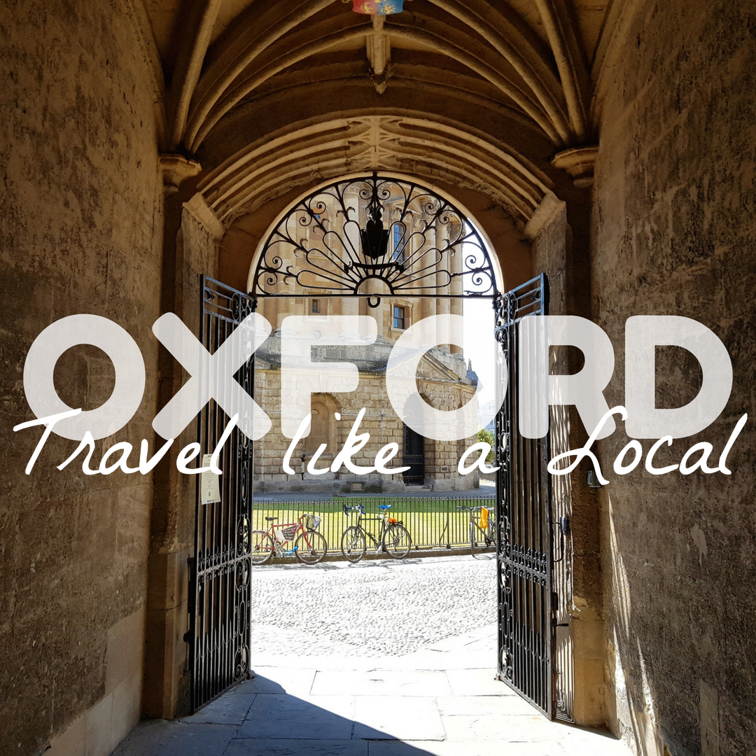 oxford travel local visit tourist radcliffe camera