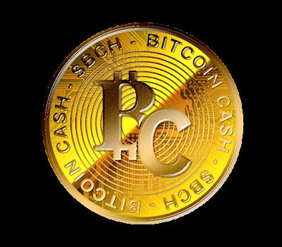 仮想通貨ビットコインキャッシュのフリー素材(金貨ver)