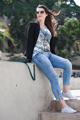 All Star com jeans