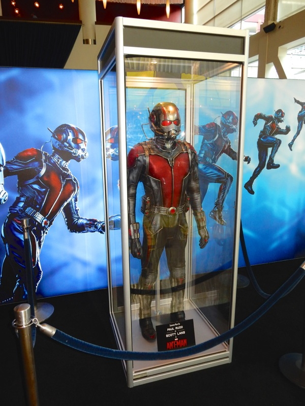Paul Rudd Ant-Man movie costume