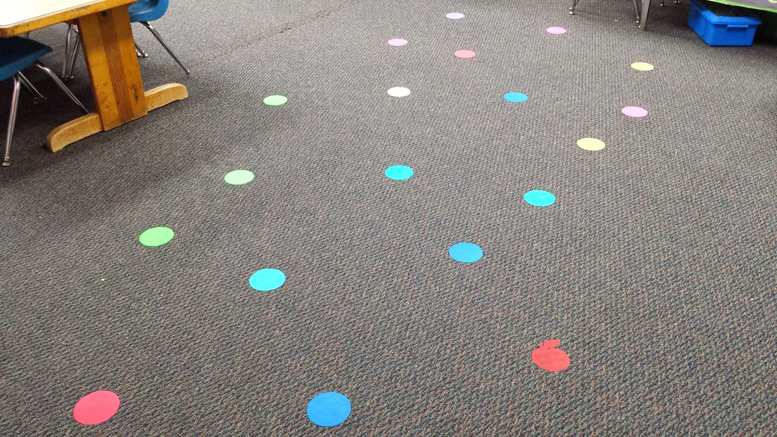 Sea Bear S Kindergarten Classroom Management Sit Spots