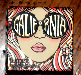 Review Blush GALifornia Benefit Cosmetics pack scatolina surfista