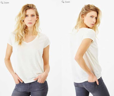 camiseta para mujer barata de Lee