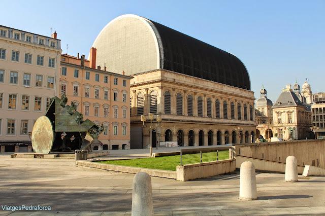 Opera de Lyon, Presqu'ile, Lyon, Lió, Rhône, Rhône-Alpes, França, France