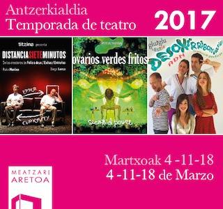 """Vuelve el """"Marzo Teatral"""" a Meatzari Aretoa"""
