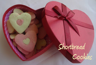 Heart-in-heart Shortbread Cookies