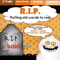 Word Choice Unit. Putting Old Words to Rest
