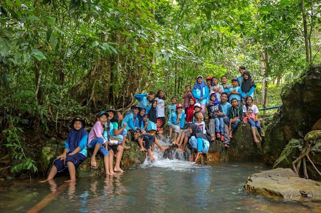 anak-anak belajar lingkungan dan kesehatan