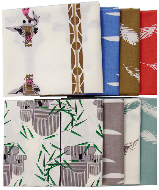 Nurture by Charley Harper for Birch Fabrics
