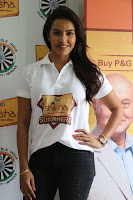 Actress Priya Anand in T Shirt with Students of Shiksha Movement Events 23.jpg