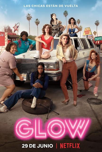 Póster oficial de la segunda temporada de Glow