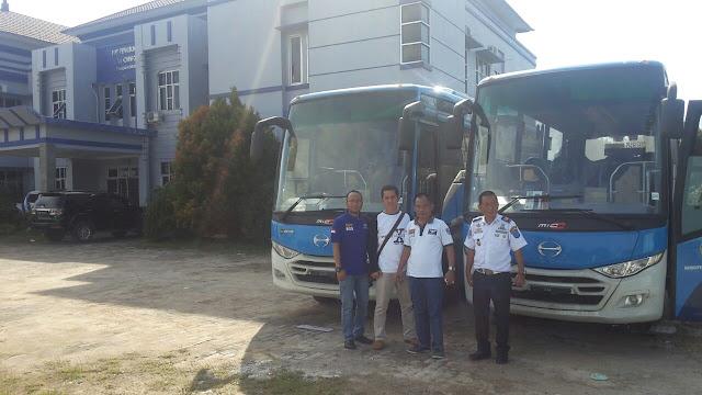 Pemkab OKI Terima Tambahan 2 Unit Bus