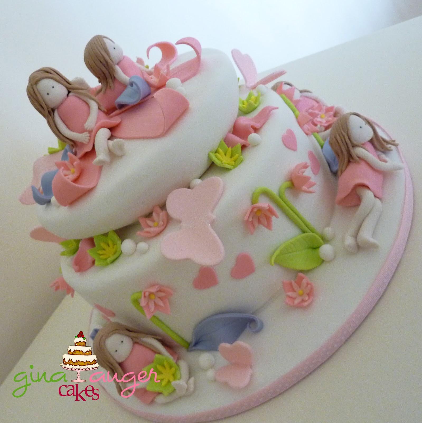 Top That Sweet Little Girls Birthday Cake