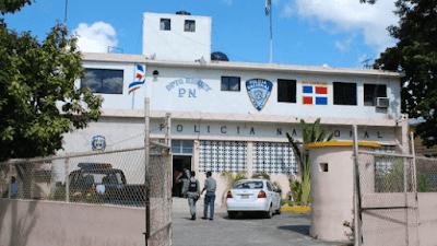 Policía Nacional en Higüey