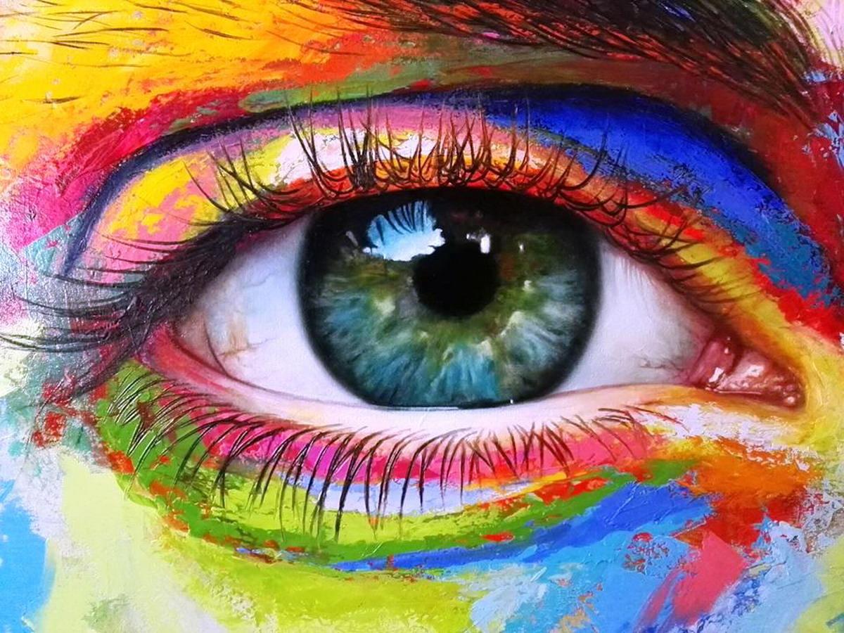 Pintura moderna y fotograf a art stica ojos del alma - Lo ultimo en cuadros modernos ...