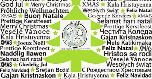 Multicultural Association Of Porvoo Merry Christmas In Many Languages
