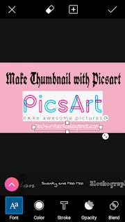PicsArt image mei blog IRL add kar sakte hai Jo bohot e professional lagega