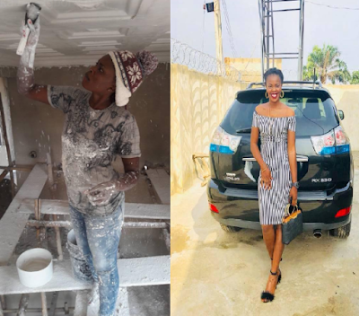 Nigerian Lady Who Does POP For A Living Buys A Brand New Lexus SUV