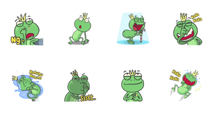 Oggy The Frog (Mini Pack)
