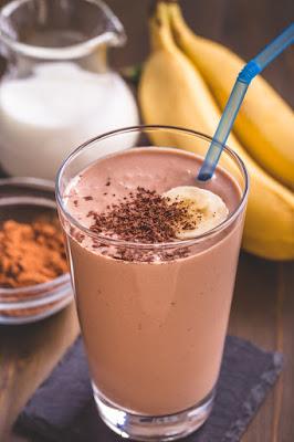 Recette Smoothie banane-cacao