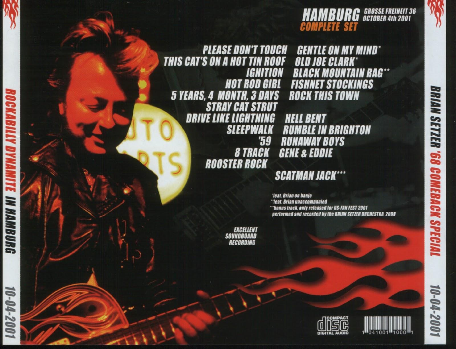 egroj world Brian Setzer • Rockabilly Dynamite In Hamburg