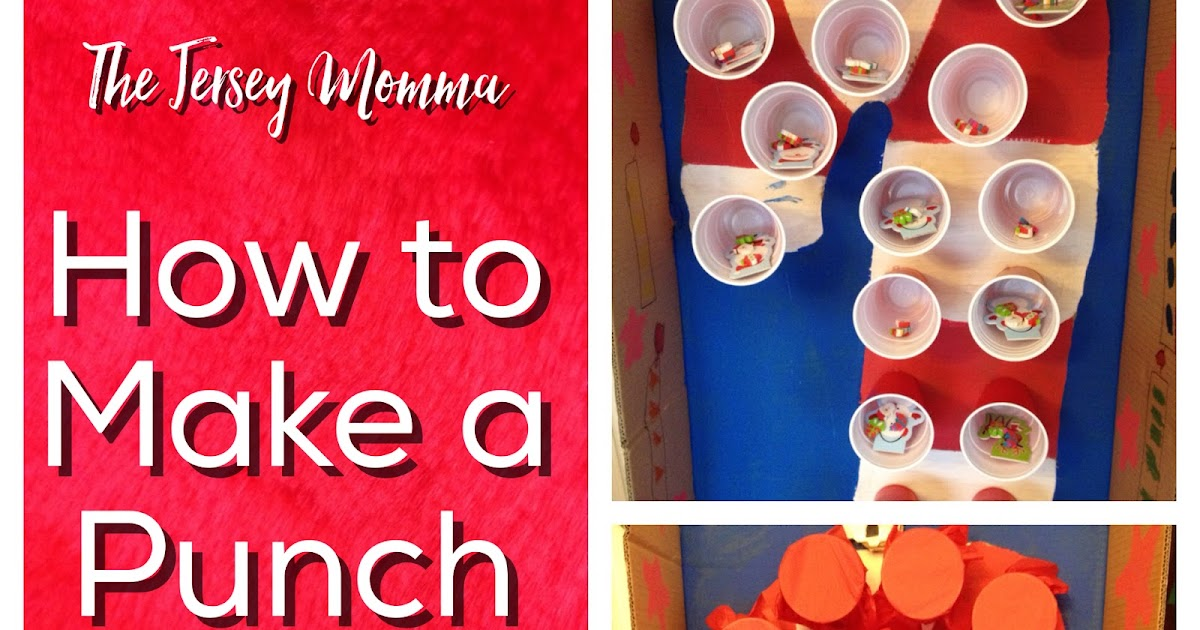 Car Foam Gun >> The Jersey Momma: How to Make a Punch Prize Box for Class Parties