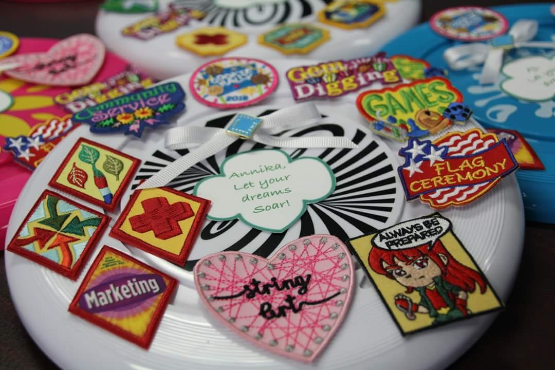 Inventive Ways to Display Girl Scout Badges and Patches - Girl Scout