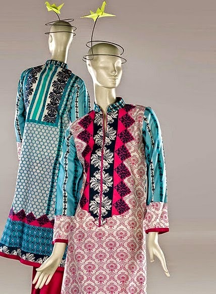Latest AlKaram Summer Spring Dress Collection 2014