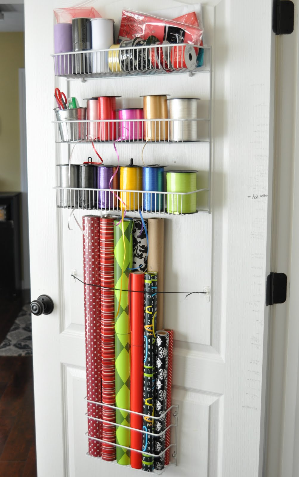 She S Crafty Gift Wrap Organizer
