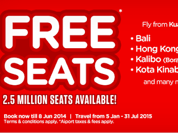 WW #96 | Air Asia Free Seats