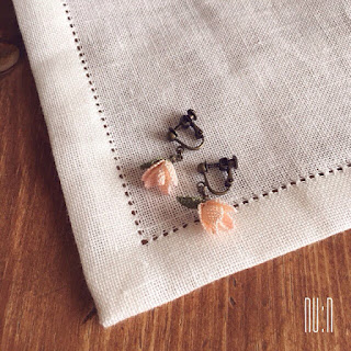 Mini Rose Earrings