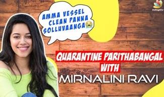 Mirnalini Ravi Reveals her 'Cobra Moments'
