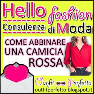 CONSULENZA DI MODA: come abbinare una CAMICIA ROSSA!