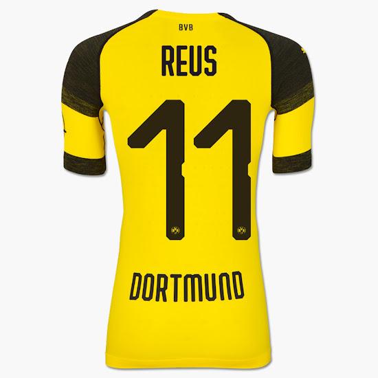 Odd Puma Borussia Dortmund 18-19 Kit Font Released - Footy Headlines cbd85a95f
