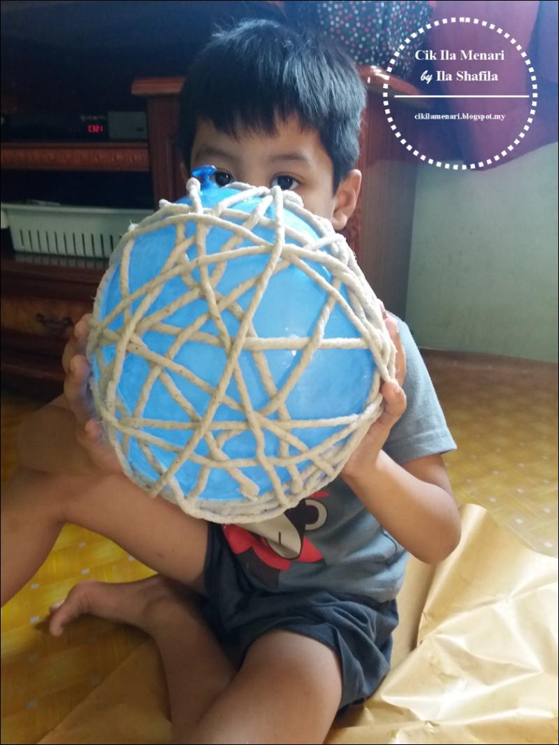 Cara Buat String Ball