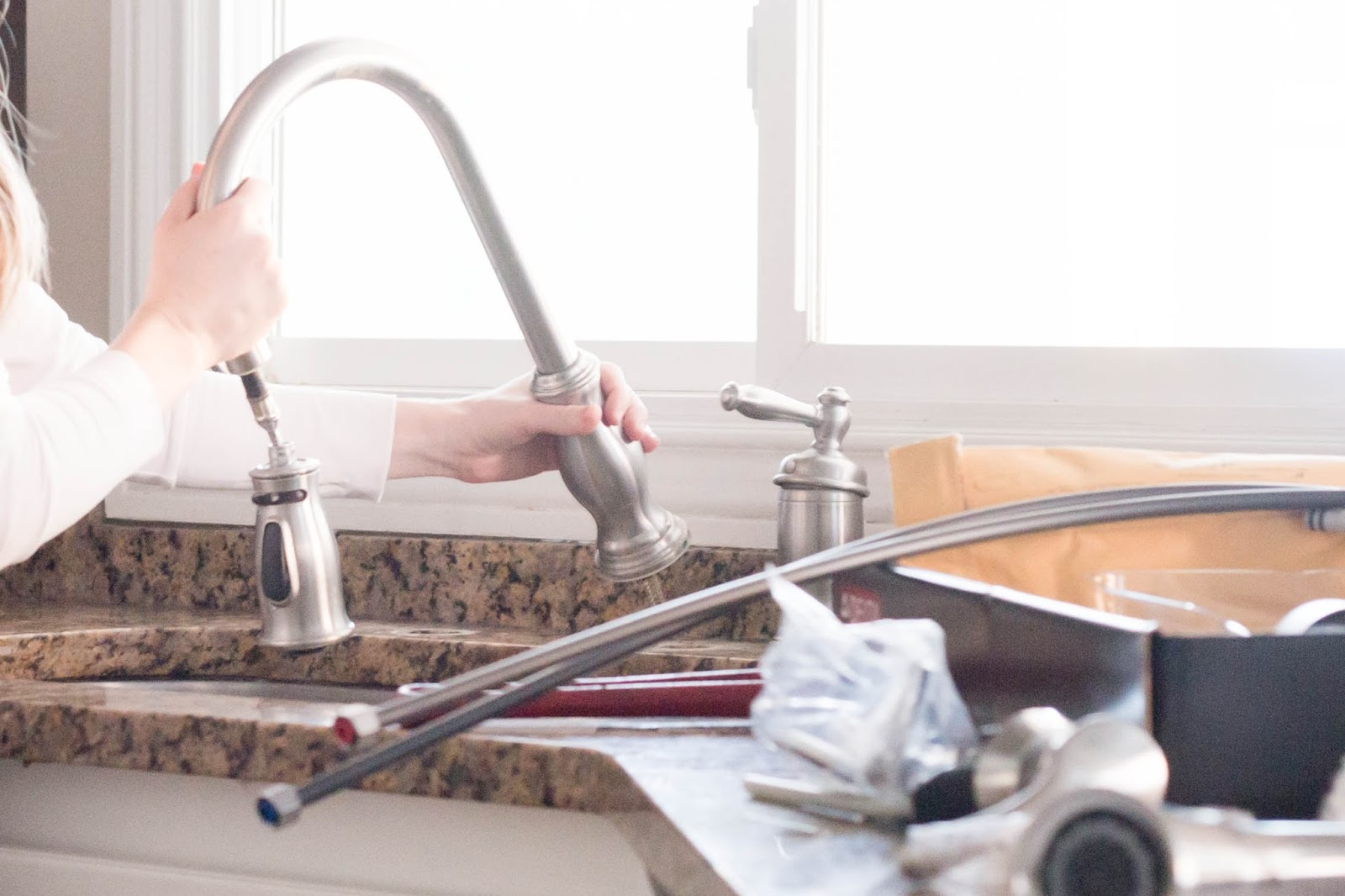 do it yourself divas diy how to replace a kitchen faucet do it yourself divas diy how to replace a kitchen faucet